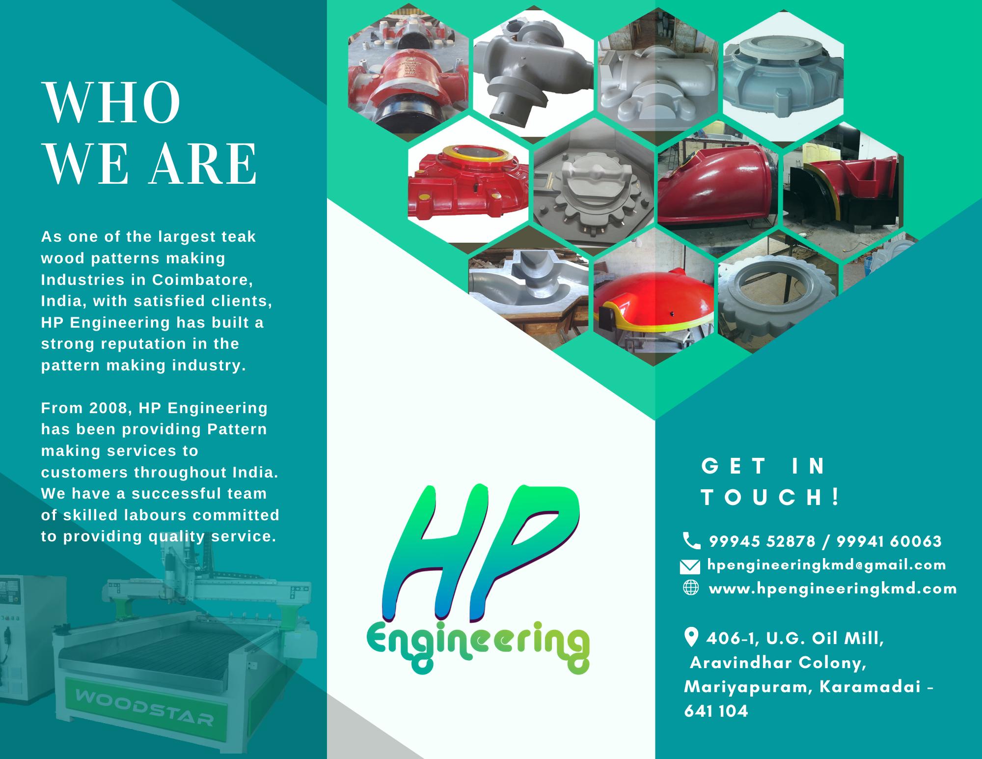 HP engineering Broucher